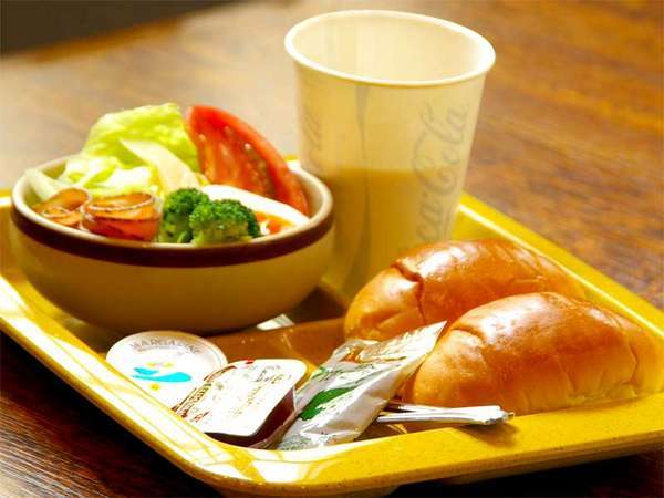 ●朝食付●ササッと食べれるワンプレート朝食付き
