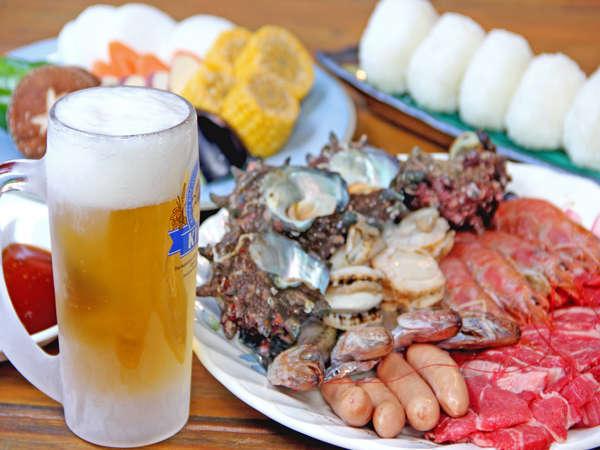 ビール片手にBBQは夏の醍醐味★ 専用BBQガーデンで味わうBBQは格別!