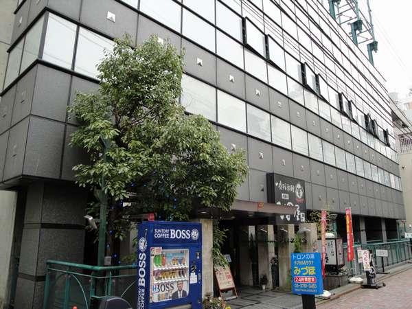 カプセルホテル&サウナ みづほの外観