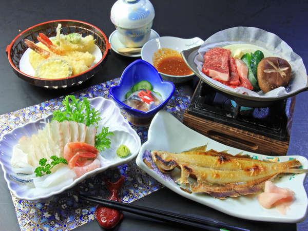 新鮮な海の幸や自家製野菜の旬の会席料理を存分にご堪能下さいね!