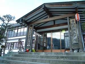 湯西川温泉 元湯 高房ホテルの外観
