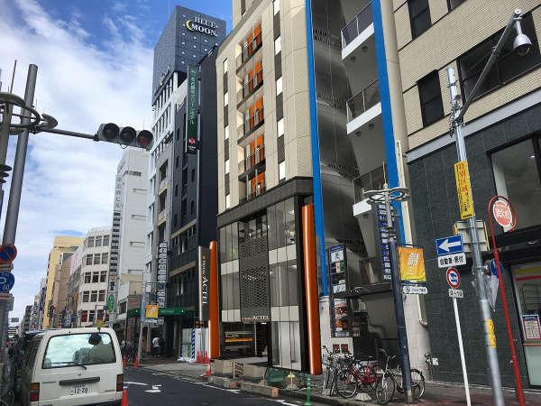 ホテルアクテル名古屋錦(2018年8月8日オープン!)