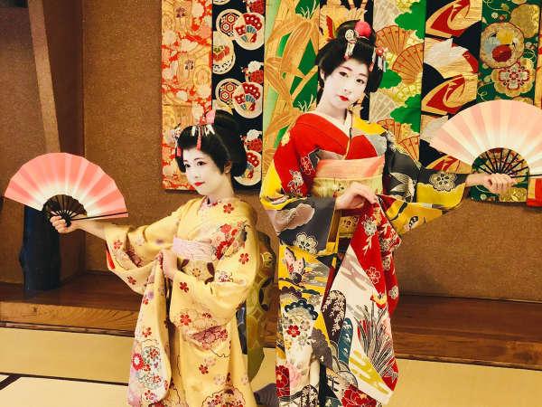 【1日1組・第4金曜限定】<あきた舞妓♪>選べる夕食と『あきた舞妓』の鑑賞♪秋田の魅力たっぷり!