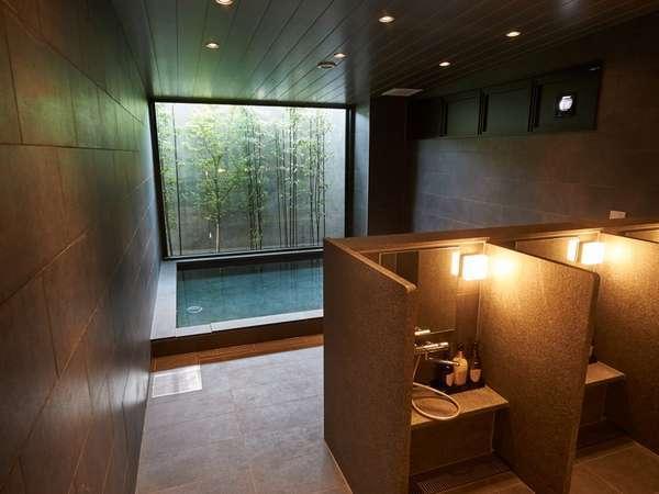 【浴場】15:00~25:00、翌朝5:30~9:00(男性浴場にはサウナ完備)