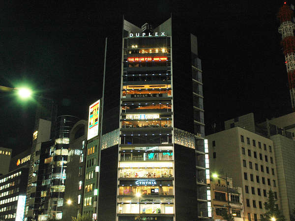 THE PRIME POD 銀座東京(ザ プライムポッド銀座東京)の外観