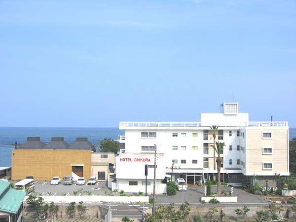 ホテル千倉の外観