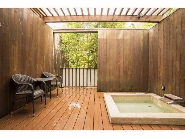 温泉露天風呂付き客室 コンフォートツインタイプC
