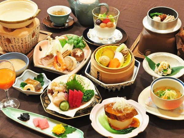 【お手軽薬膳プラン一例】岩手の旬の食材を活かした薬膳をご堪能ください。