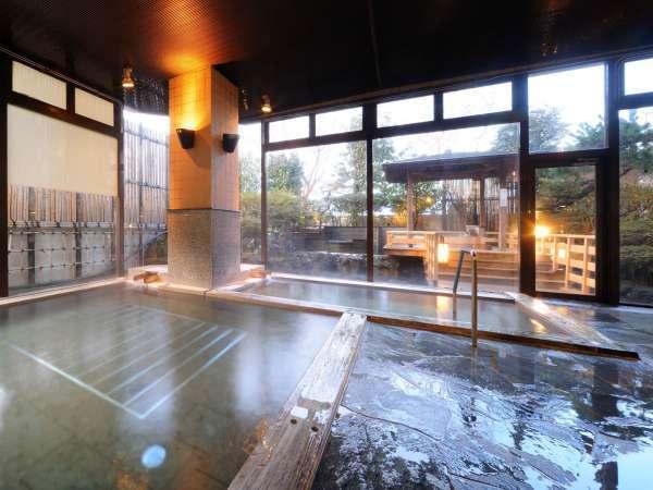1階大浴場(内風呂) 男女入れ替え制