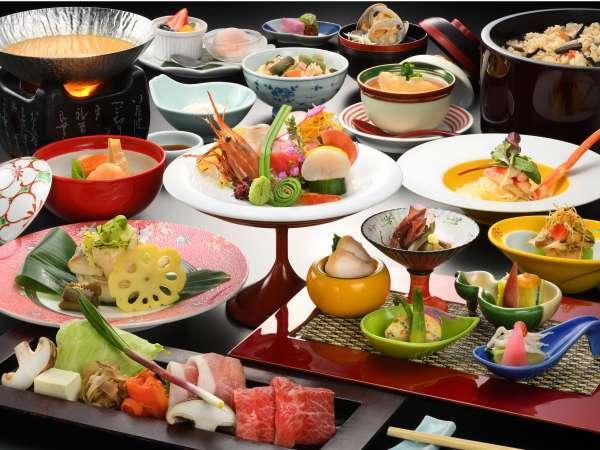 ワンランク上お料理コース「雅」2021年春イメージ写真