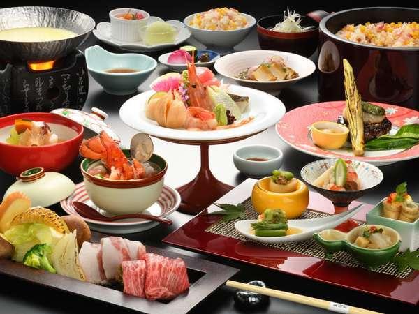 ワンランク上のお料理コース「雅」※2021年夏イメージ写真