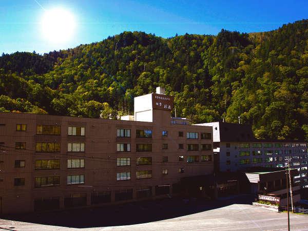 層雲峡観光ホテルの外観