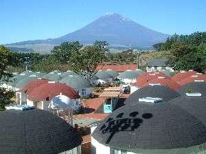 <当日予約もOK!>温泉&朝食バイキング付き☆富士山の麓に泊まろう♪【ロッジ&ヴィラ】