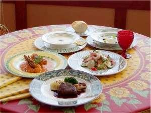 欧風ビストロコース★王道のフレンチコース、メインは「お魚料理」と「お肉料理」が両方愉しめる!