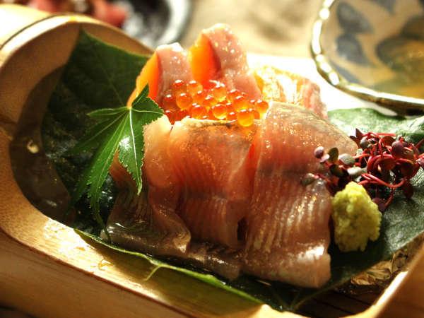 旬魚のお造り盛り合わせ