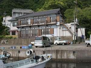 漁師の宿 幸乃家の外観