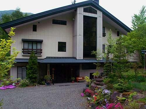 ホテル杣乃家の外観