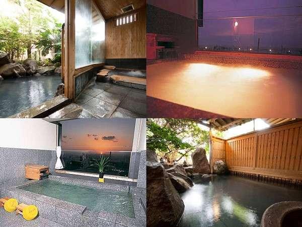 福徳屋自慢の4つの貸切露天風呂!湯っくり温泉をお楽しみ下さい