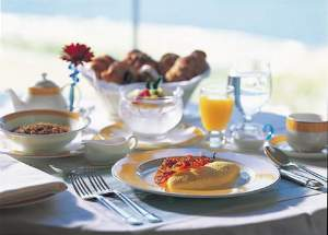 特別メニューのルームサービスでのご朝食(イメージ)