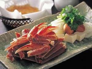 日本料理「あわみ」蟹鍋(イメージ)