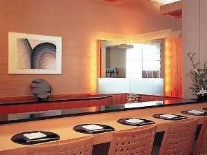 日本料理「あわみ」寿司カウンター3階