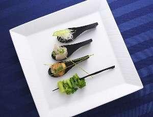 夕食イメージ (季節・天候により内容が異なります)