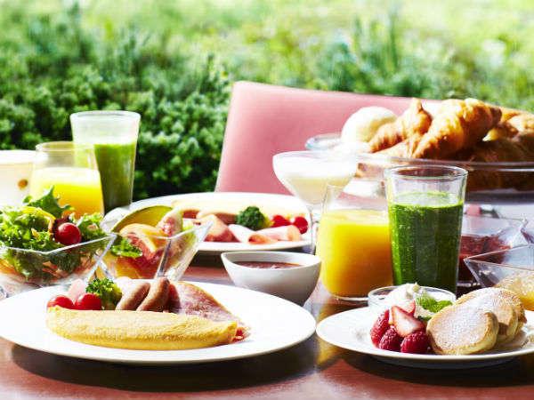 朝食ブッフェ(イメージ)