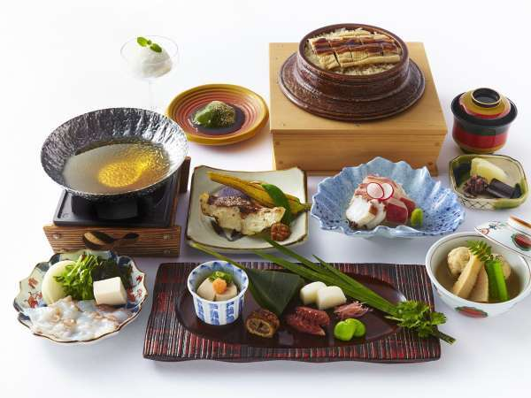 日本料理「あわみ」会席料理(イメージ)