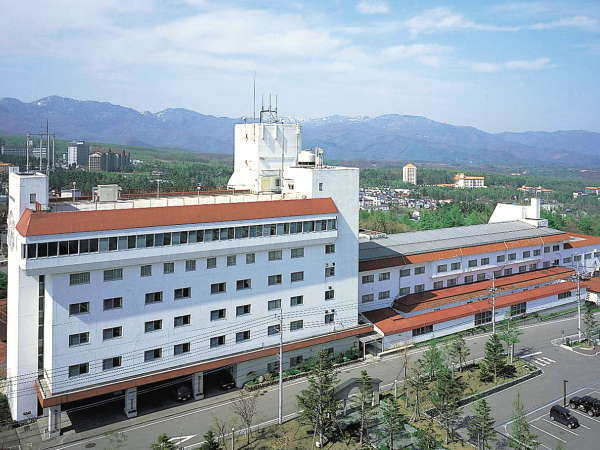 草津温泉ホテルリゾートの外観