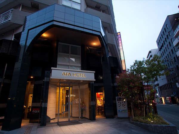 アパホテル<神戸三宮>の外観