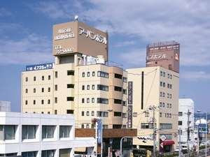 松江 アーバンホテルの外観