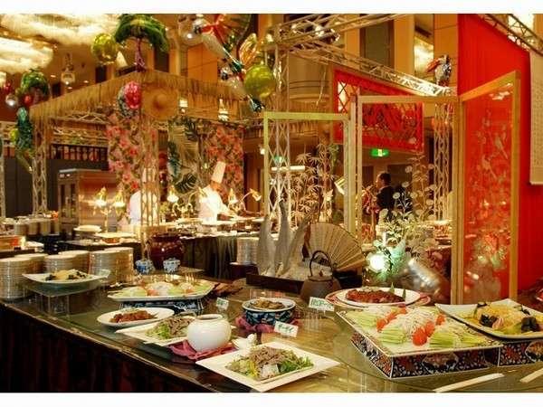 宴会場でのお正月限定イベント「新春中国料理バイキング」イメージ