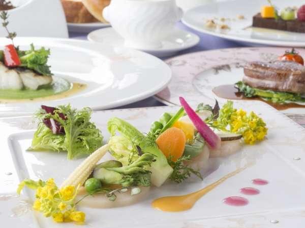 27F「唐紅花&蒔絵」フランス料理コース イメージ