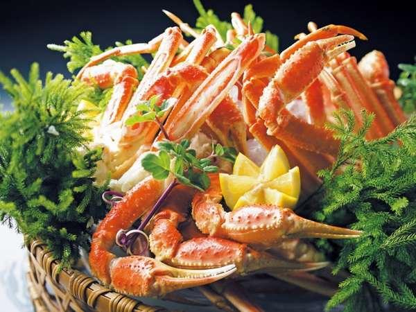 ずわい蟹も食べ放題