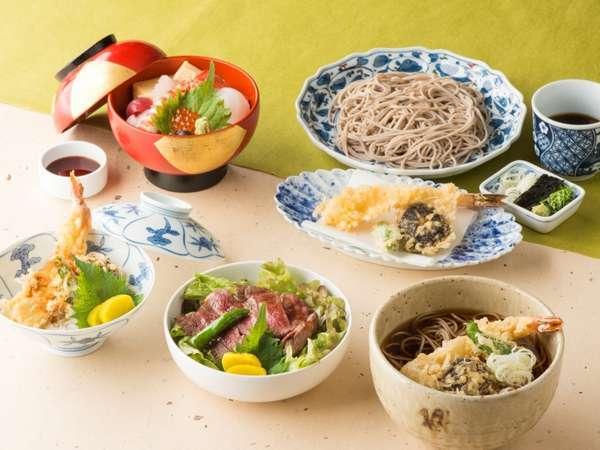 6F「歌留多」お食事チョイスメニュー イメージ