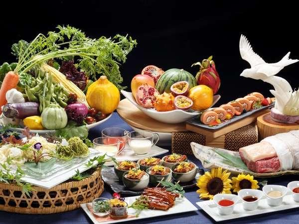 【1泊夕食でお得】大人気ブッフェレストラン武藏<7・8月は夏の味わいフェア>