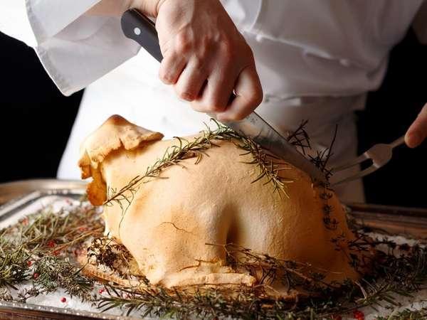 若鶏の塩パイ包み焼きイメージ