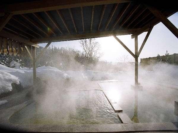 露天風呂(女性用)冬のイメージ