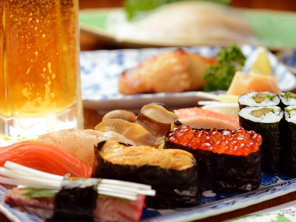 【WEB限定】漁師が認める鹿部町のお寿司屋さんで夕食コラボ!お寿司&1泊朝食リゾートステイ
