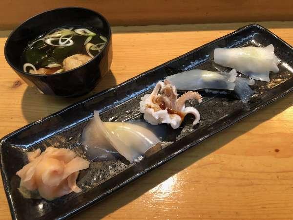 【WEB限定】鹿部町で愛されるお寿司屋さんのランクアッププラン!お寿司&1泊朝食リゾートステイ
