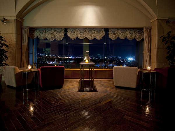≪ワインバー≫甲府盆地の夜景を眺めながら、ゆっくり流れる上質な大人時間をお過ごしください。