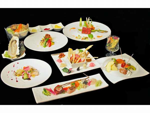 ご夕食【創作料理】一例