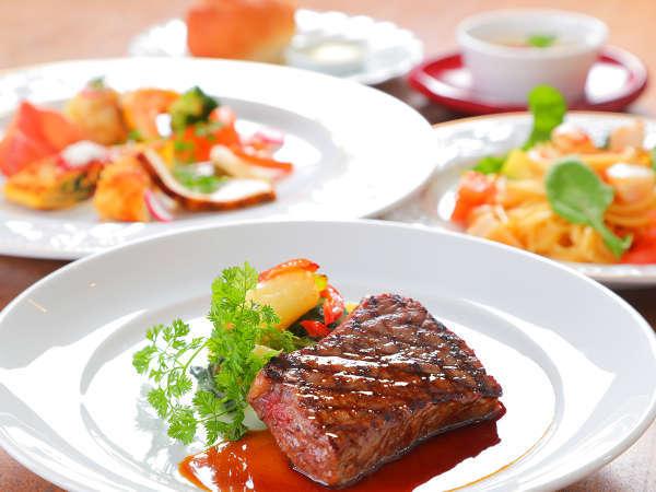 【ステーキコース◇2食付】お手軽にステーキを楽しむスタンダードコース