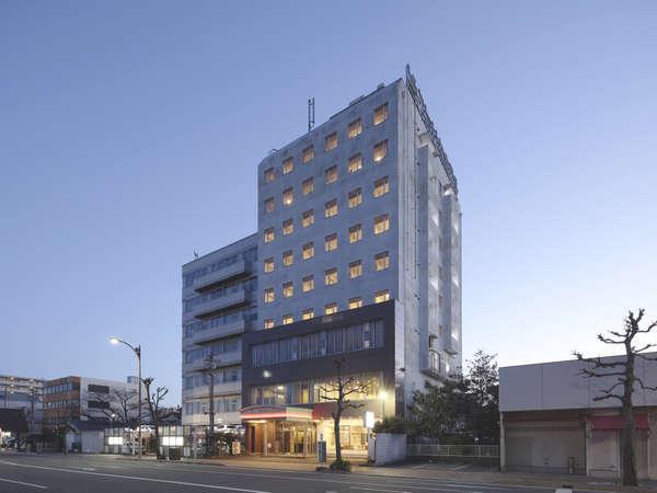 静岡ビクトリヤホテルの外観
