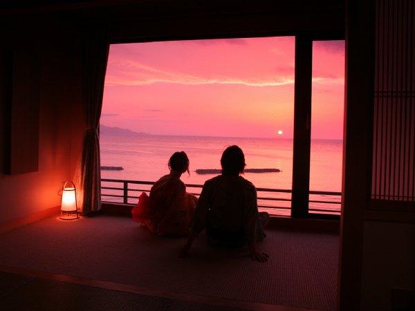 夕日ヶ浦温泉 夢、美しく舞い踊る 静 花扇