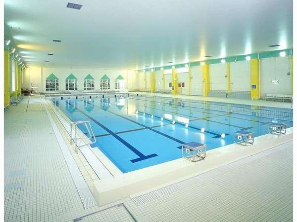 安心安全なシステムを採用した温水プール。リフレッシュにいかがですか?