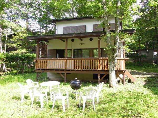 りす村別荘の外観