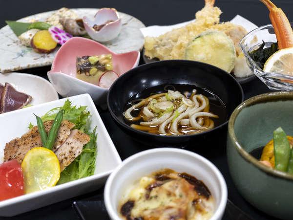 【夕食】贅沢夕食プランは品数やメニューが変わります