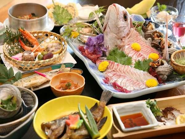 【50歳以上限定】おいしい料理を少しずつ♪地魚会席プラン*・。.☆