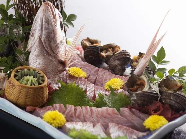 売れ筋No1☆海鮮好きな方におすすめ〜地魚いっぱい会席プラン♪《個室食》